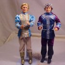 LOT OF 2 PRINCE CHARMING KEN BARBIE DOLL 1990-97