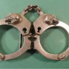SKULL HANDCUFFS BELT BUCKLE from hot topic store NEW