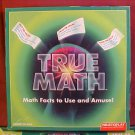 1995 TRUE MATH BOARD GAME MATH FACTS AND MORE
