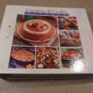 Creative Cook's KITCHEN Companion Cookbook 3 ring binder Color Recipes #1