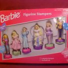 1999 MIB BARBIE FIGURINE STAMPERS SET
