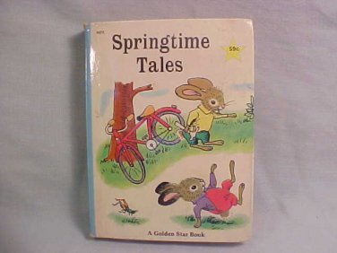 1955 SPRINGTIME TALES BOOK KATHRYN JACKSON