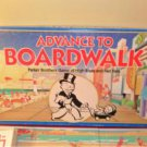 1998 Advance To BoardWalk Board Game Complete