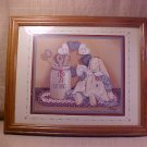 RETIRED HOME INTERIOR FRAMED PICTURE HOMCO 14 X 18