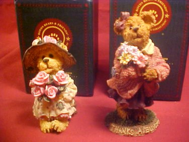 2001-02 MIB BOYDS BEARS THE BEARSTONE COLLECTION SET