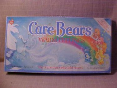 VINTAGE 1984 CARE BEARS WARM FEELINGS BOARD GAME