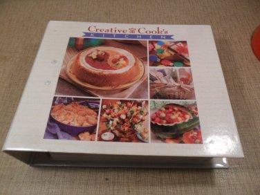 Creative Cook's KITCHEN Companion Cookbook 3 ring binder Color Recipes #2