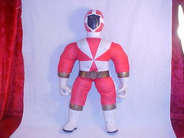 "2000 POWER RANGER TALKING RED RANGER 20"" TALL"