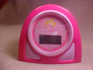 DISNEY PRINCESS ALARM CLOCK