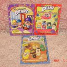 3 MIGHTY BEANZ COLLECTORS GUIDE & ACTIVITY BOOK