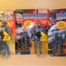 Lot Of 3 1993 Talking RoboCop Action Figure Toy Island New MIP
