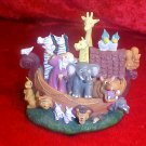 NOAH'S ARK MUSICAL RESIN FIGURINE