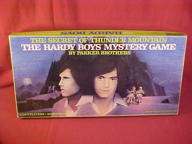 1978 PB THE HARDY BOYS MYSTERY BOARD GAME