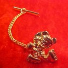 VINTAGE DISNEY MICKEY GOLD TONE PIN PENDANT