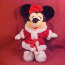 Vintage DISNEY MINNIE MOUSE CHRISTMAS PLUSH TOY