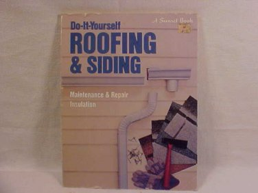 DO IT YOURSELF ROOFING & SIDING BOOK
