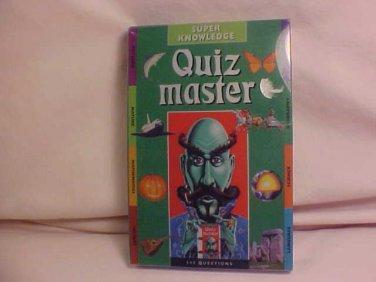 MIB QUIZ MASTER SUPER KNOWLEDGE CARD GAME
