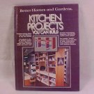 KITCHEN PROJECTS YOU CAN BUILD BOOK