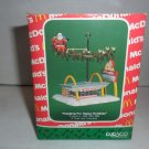 MIB 1990 Enesco Treasury McDonalds Collection Christmas Ornaments