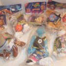 1996 Lot Of 6 McDONALDS Space Jam Plush Toys MIP