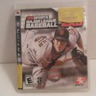 2009 Play Station 3 2K Sports Major League BaseBall Game