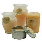 Sweet Orange and Myrrh Essential Blend Candle