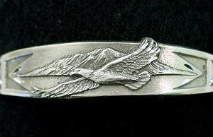 Biomagnetic Bracelet - Flying Eagle