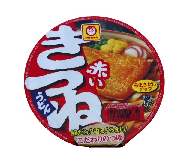 Maruchan Akai Kitsune Large Fried Beancurd Udon Noodles