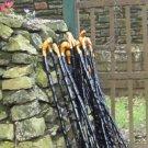 Genuine Irish Walking Stick - Blackthorn 35 Inch Cane