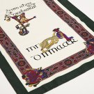Green Book of Kells Long Celtic Scarf