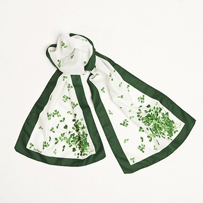 Long Sprig of Shamrock Scarf