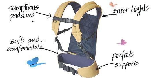 Patapum Toddler Carrier Khaki