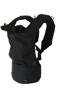 Patapum Baby Carrier Black