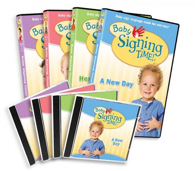 Baby Signing Time Vol. 1-4 DVD Gift Set