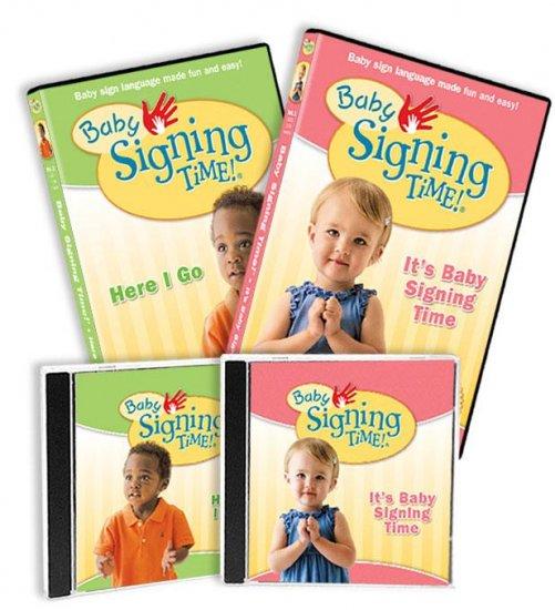 Baby Signing Time Vol. 1-2 DVD Gift Set