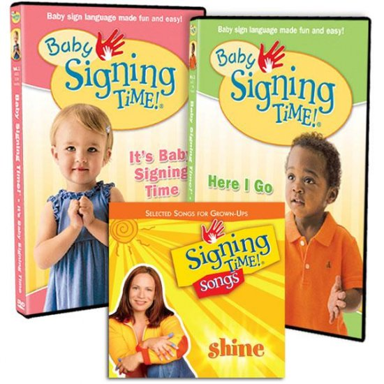 Baby Signing Time- Baby Shower Bundle