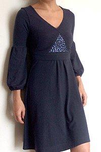 Starry Night Poet's Dress