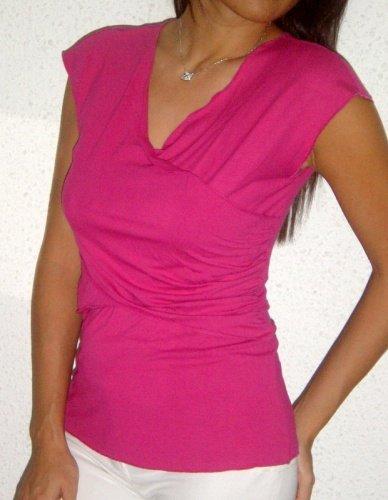 Crisscross tunic (raspberry)