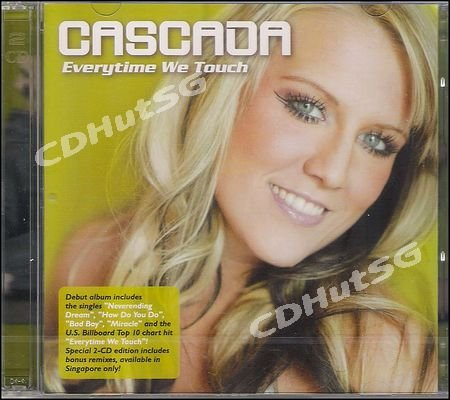 Cascada EVERYTIME WE TOUCH 2 CD Album + Mixes 2006 SEALED