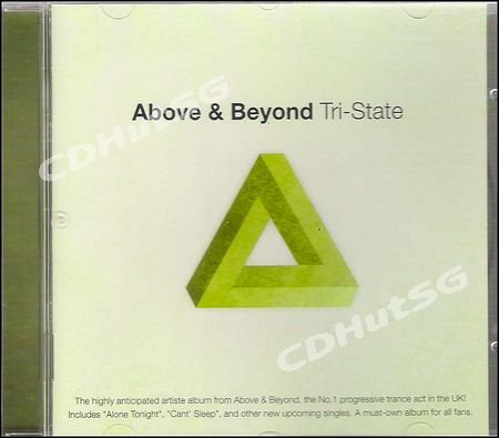 Above & Beyond Tri-State Trance Anjunabeats CD Xtr1 Mix