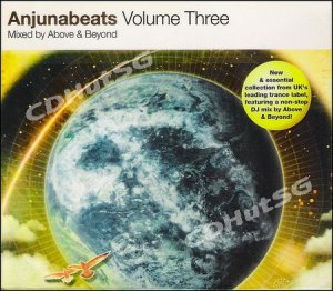 Anjunabeats V.3 ABOVE & BEYOND Mixed UK Trance CD NEW!