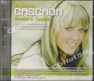 Cascada ESSENTIAL REMIXED Truly Madly Deeply 2 CD Album