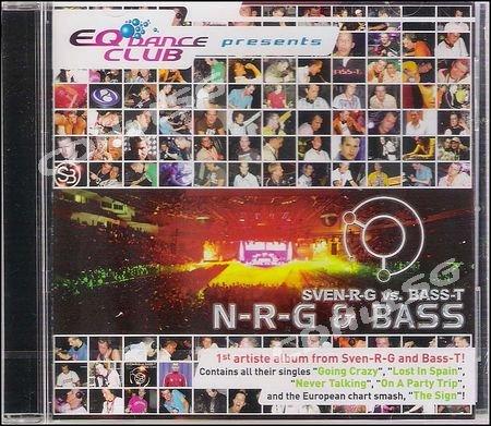 SVEN-R-G vs. Bass-T : N-R-G & Bass CD Album 2006 NEW