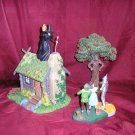 Wizard Of Oz WANNA PLAY W/ FIRE Lighted 3 piece DIORAMA
