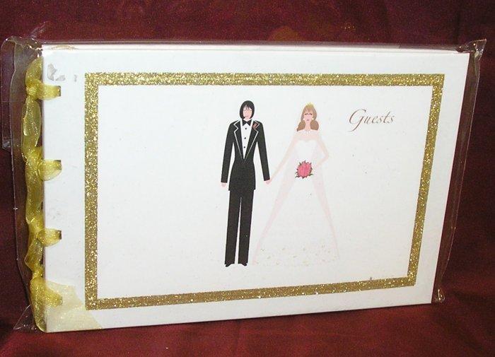 Lesbian Wedding GAL GROOM & BRIDE 70 pg GUEST BOOK