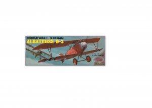 AURORA  WORLD WAR 1 GERMAN ALBATROSS D-3 MODEL KIT