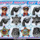 TIN BADGE SET TOY