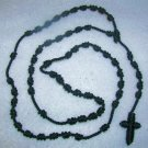 Dark Blue Knot Rosary - Handmade of Nylon Cord - FREE Shipping to U.S. and Canada