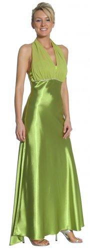 Coral Formal Dress Coral Bridesmaid Dress Empire Waist Rhinestone | DiscountDressShop.com 2095JU