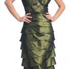 Olive Mother of the Groom/Bride Dress Formal Evening Dress Olive | DiscountDressShop.com 2130NX